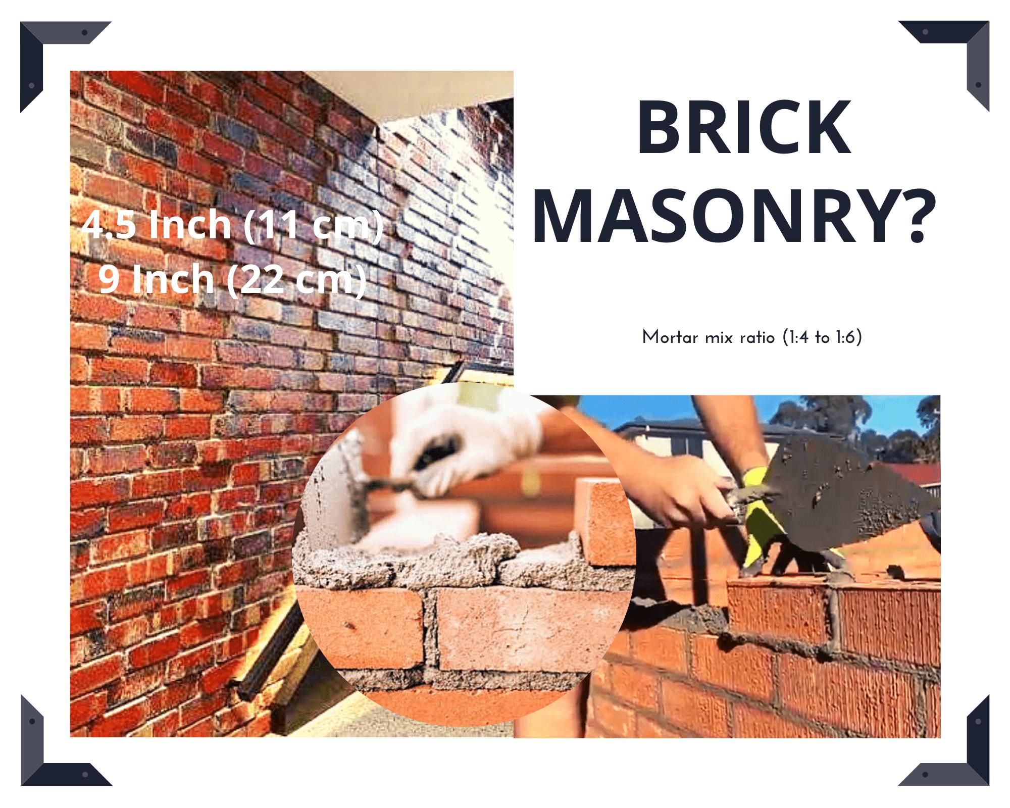 brick masonry0