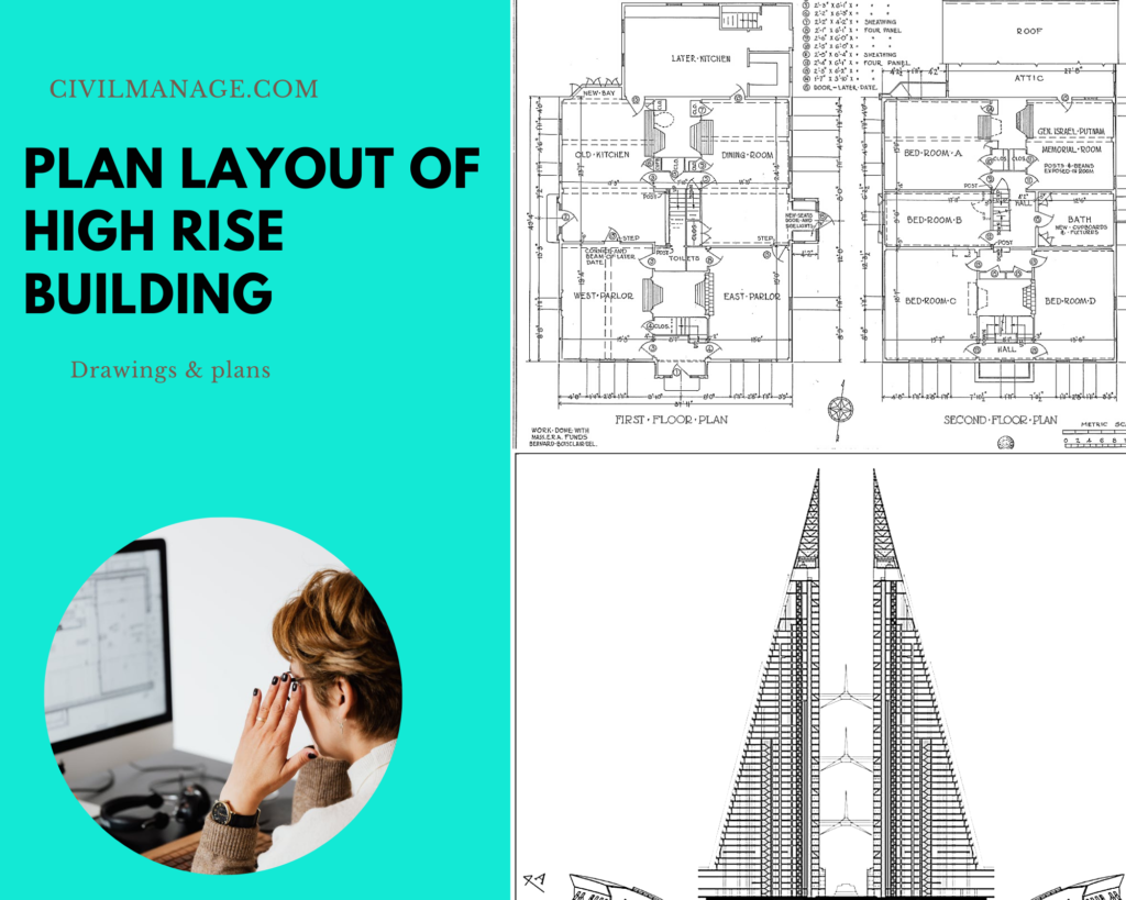 layout plan of high rise buildings