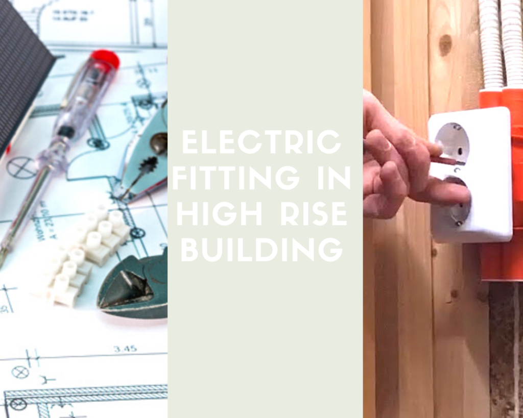 Electric supply in high rise building