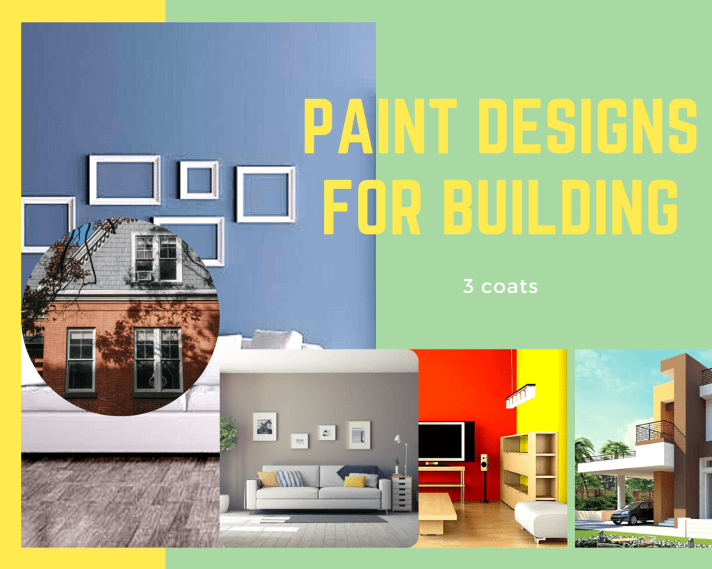 Wall paint design for