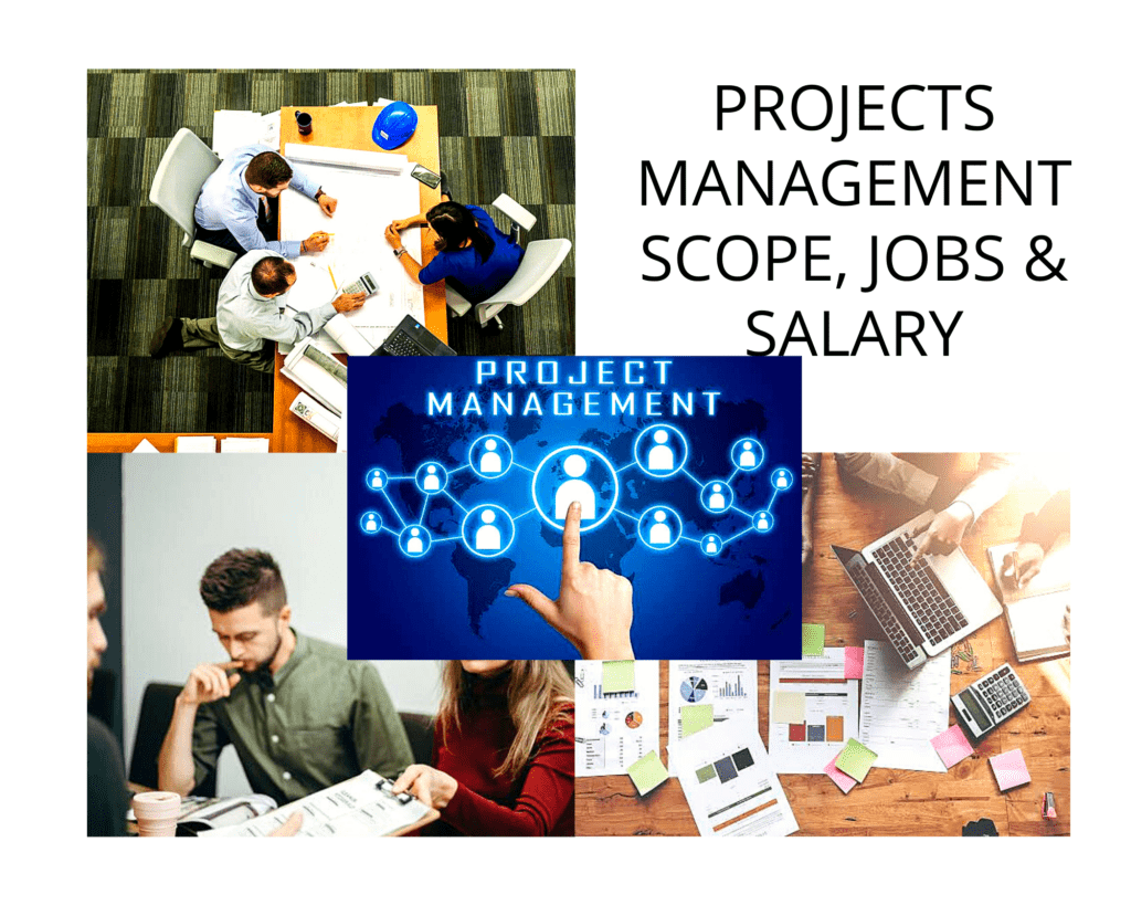 Project management scope, jobs and salary