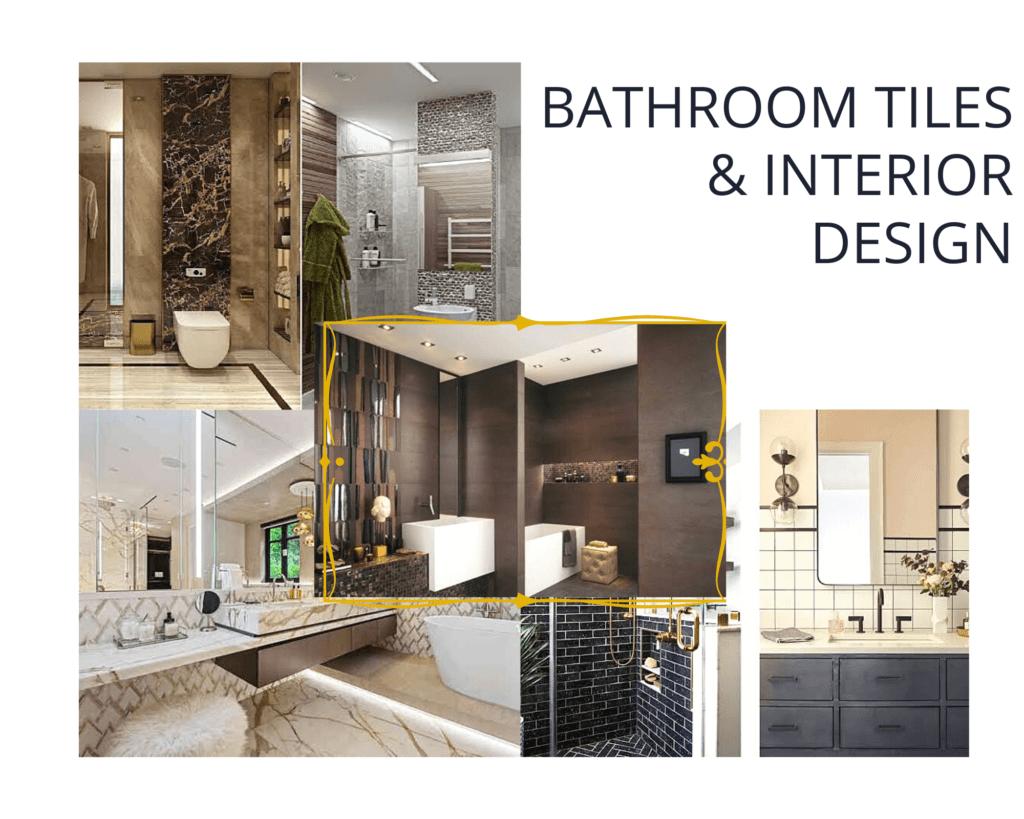Bath tiles and interior