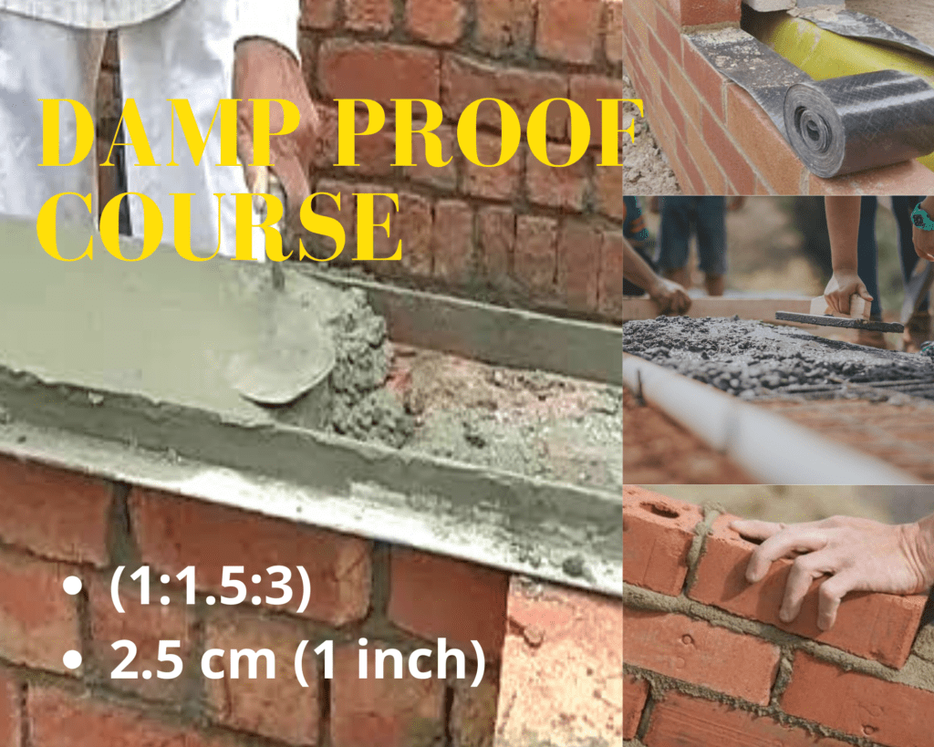 damp proof course in building construction