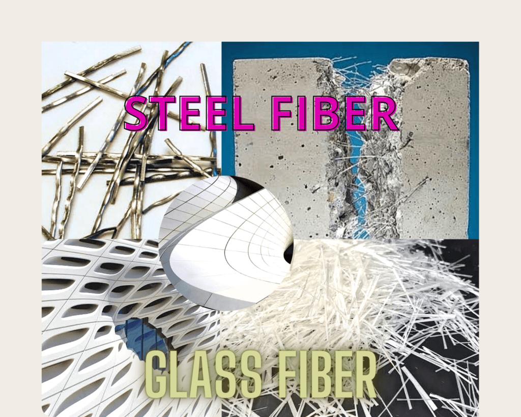 Steel and glass fiber concrete